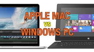 apple vs mac