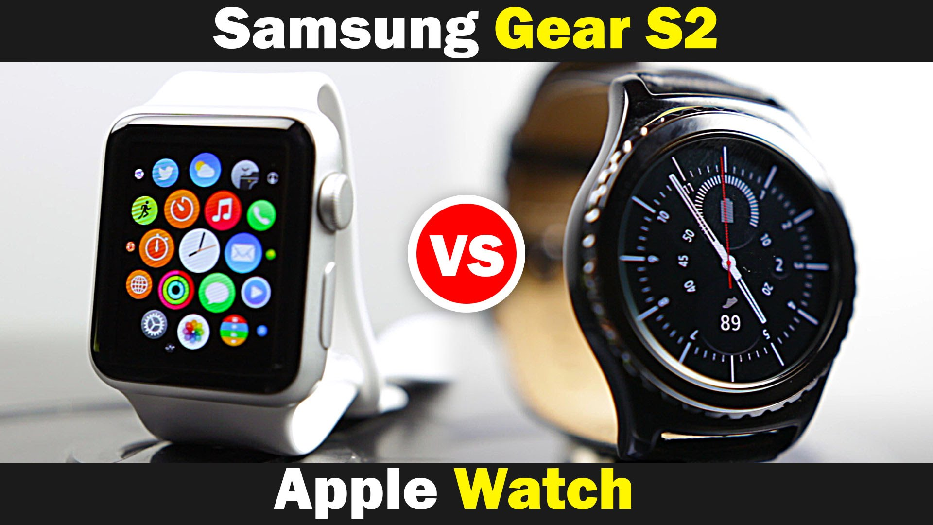 samsung gear vs apple watch